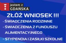 Więcej o: Nowy okres zasiłkowy – świadczenia bliżej Gdańszczan!