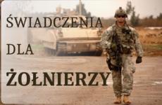 Więcej o: Świadczenia dla żołnierzy, czyli co GCŚ ma wspólnego z wojskiem