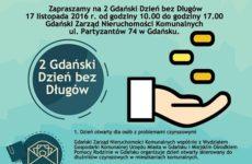 Więcej o: Gdański Dzień bez długów