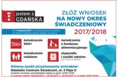 Więcej o: 500+, fundusz alimentacyjny i inne świadczenia – już jutro wideoczat w portalu www.gdansk.pl