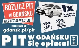 Banner Rozlicz PIT w Gdańsku