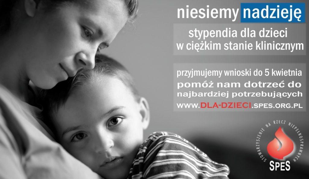 Plakat promujący Program Pomocy Dzieciom