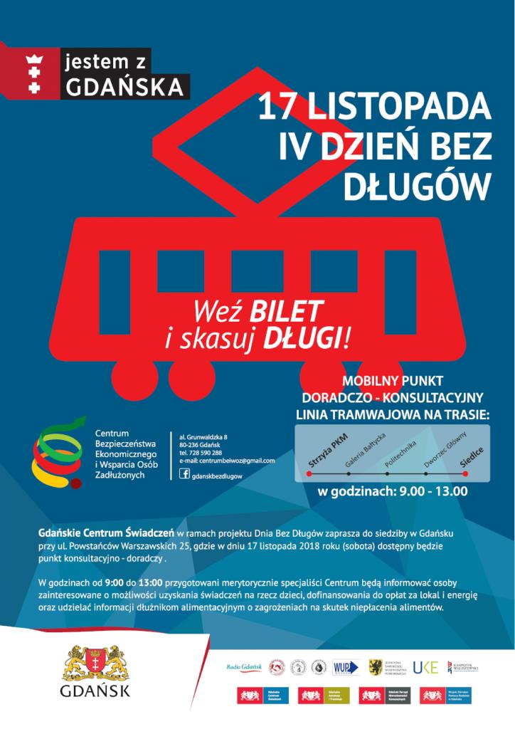 Plakat promujący IV Dzień bez Długów