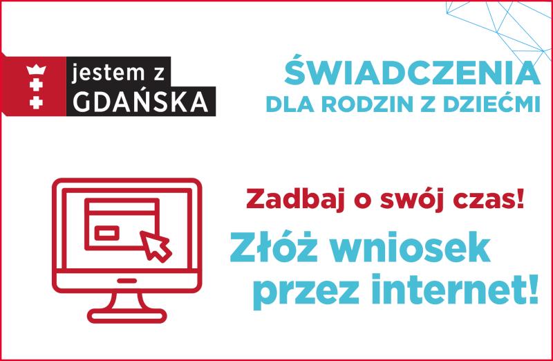 Banner zachęcający do składania wniosków on-line